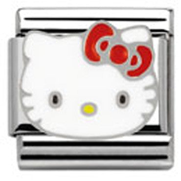 Nomination Hello Kitty Red Bow Charm