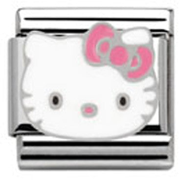 Nomination Hello Kitty Pink Bow Charm