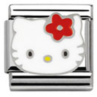 Nomination Hello Kitty Red Flower Charm