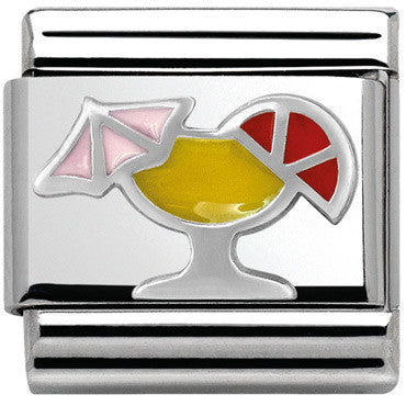 Nomination Silver Cocktail Charm