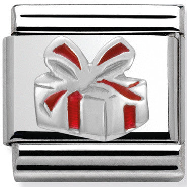 Nomination Charm Silver Gift Box With Silver Detail