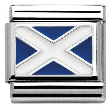 Nomination Silver Scottish Flag