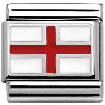 Nomination English Flag Charm