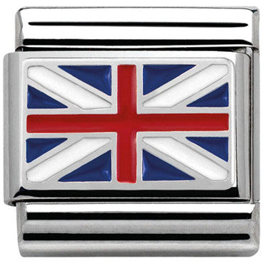 Nomination Gb Flag Charm