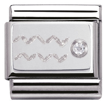 Nomination Silver Aquarius Charm