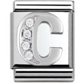 Nomination Letter C Charm Big