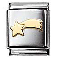 Nomination Gold Shooting Star Charm Big
