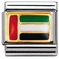 Nomination Charm United Arab Emirates Flag