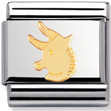Nomination Charm Gold Taurus Star Sign