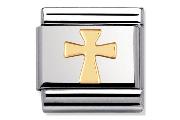 Nomination Charm Gold Cross
