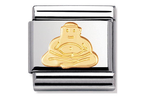 Nomination Charm Buddha Gold