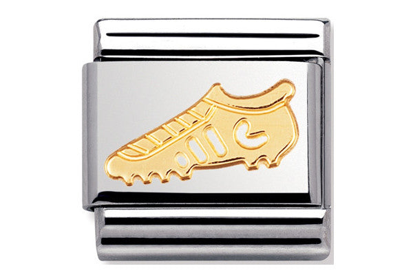 Nomination Charm Gold Football Boot