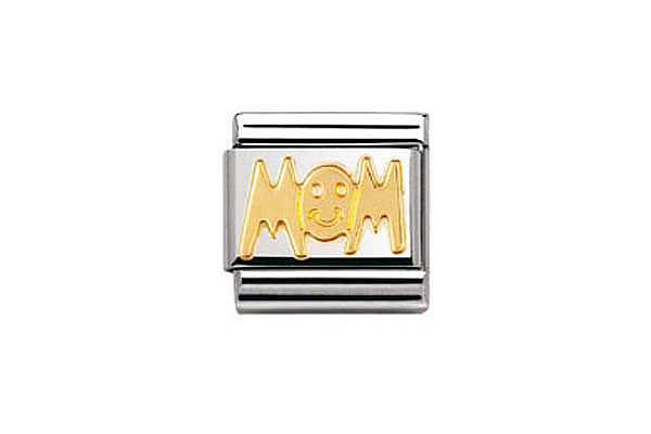Nomination Charm Gold Mom