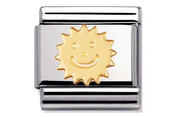 Nomination Charm Gold Sun