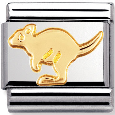 Nomination Charm Gold Kangaroo