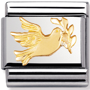 Nomination Charm Dove Of Peace