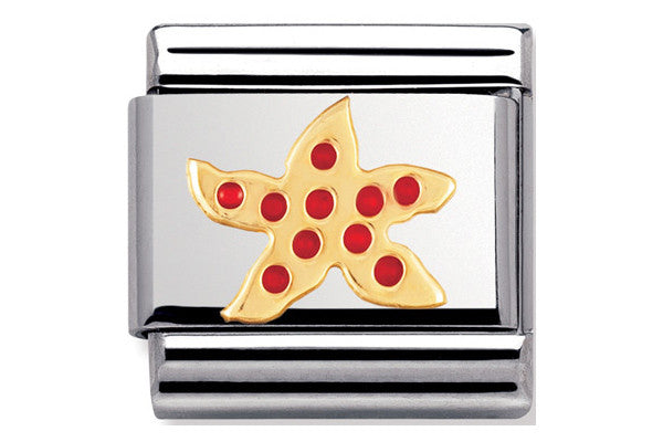 Nomination Charm Enamel Starfish