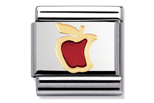 Nomination Charm Red Apple