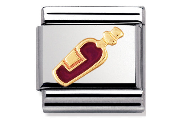Nomination Charm Enamel Red Wine