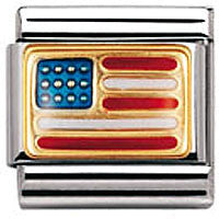Nomination Charm United States Of America