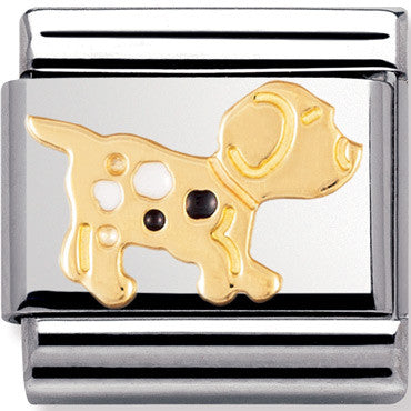 Nomination Charm Enamel Small Dog