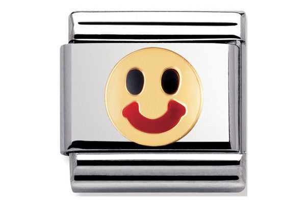 Nomination Charm Enamel Happy Face