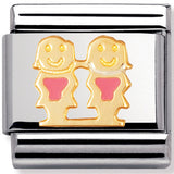 Nomination Charm Enamel Pink Girls