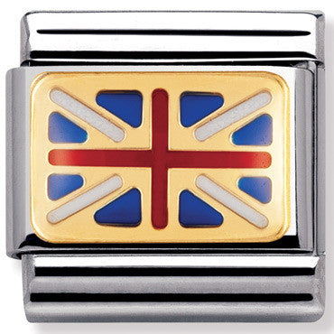 Nomination Charm Great Britain Flag