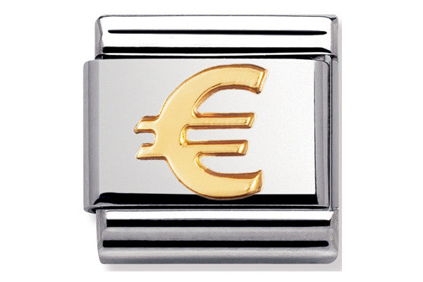 Nomination Charm Gold Euro