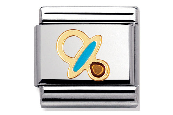Nomination Charm Enamel Blue Dummy