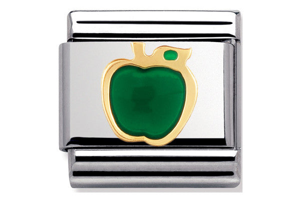 Nomination Charm Green Apple