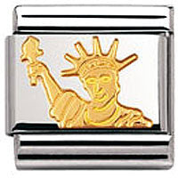 Nomination Charm Statue Of Liberty, Gold