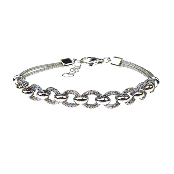 SAN - Links of Joy 83905-A 2 Rows Bracelet