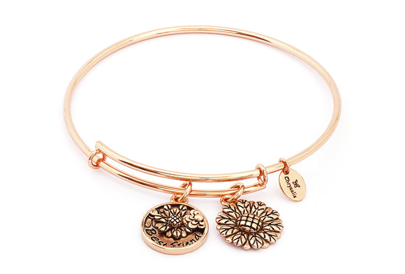 CRBT0717RG Chrysalis Best Friend Expandable Bangle