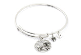 CRBT1206SP Chrysalis Bee Expandable Bangle
