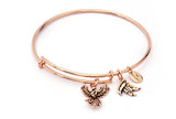 CRBT1802RG  Phoenix Expandable Bangle