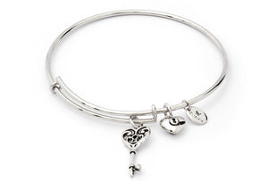 CRBT1803SP Key of Life Expandable Bangle