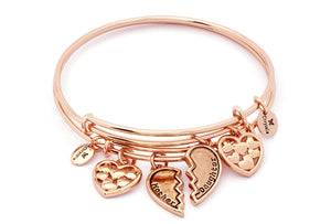 CRBT1905RG Chrysalis Boundless Love Expandable Bangle Set