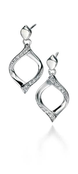 E5088C Fiorelli Silver Earrings