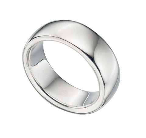 R872 Silver Elements Ring.