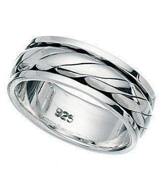 R986 Silver Elements Ring.