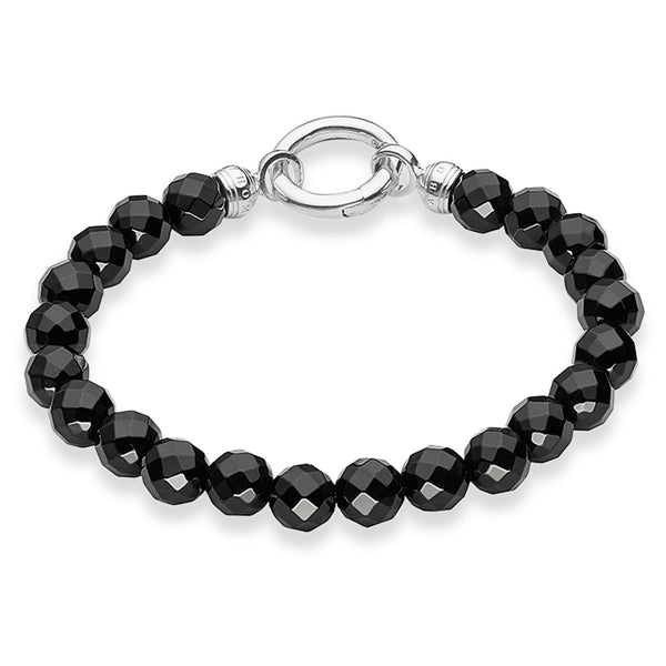 SALE Thomas Sabo Black Obsidian Bracelet Medium