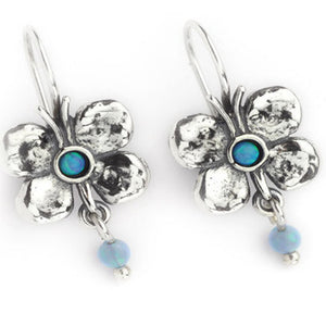 Elran Silver Butterfly Earrings