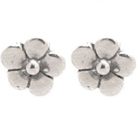 Elran Aviv Flower Shaped Earrings