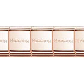 Nomination Big Base Bracelet - Copper Coloured