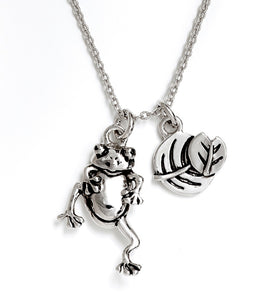 CRNT0210RG Chrysalis Frog Expandable Necklace