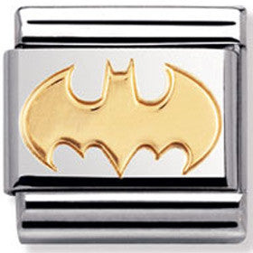 Nomination Charm Gold Batman