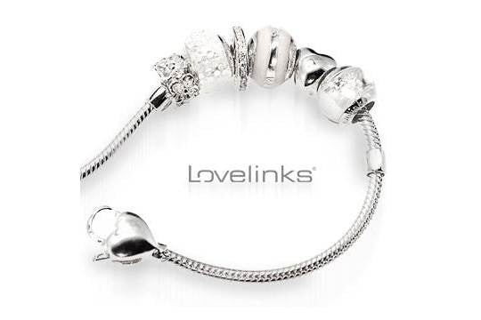 SALE Lovelinks Bracelet With 5 Small Charms - Product May Vary