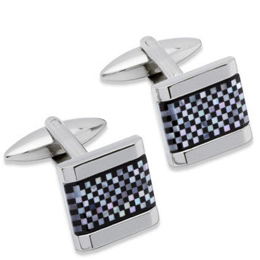 Unique Stainless Steel Cufflinks Qc-91
