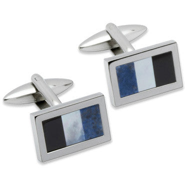 Unique Stainless Steel Cufflinks Qc-93